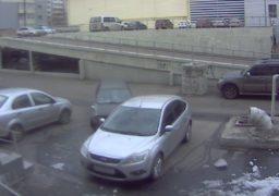 На парковці біля мерії сталася ДТП