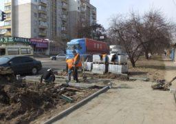 На вул. Героїв Дніпра викрали 300 квадратних метрів плитки
