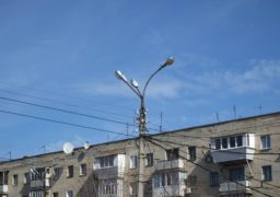 У Черкасах продовжують відновлювати освітлення міста