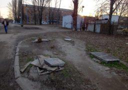 Мешканці одного з черкаських провулків страждають від опадів