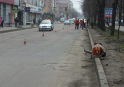 Покриття бульвару Шевченка готують до укладання нового асфальту
