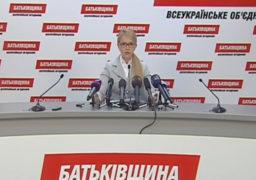 """Партія """"Батьківщина"""" виступає категорично проти продажу землі сільгосп призначення та ініціюватиме всеукраїнський референдум"""