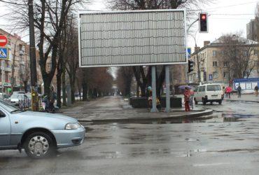 Борди по бульвару Шевченка мають бути знесені