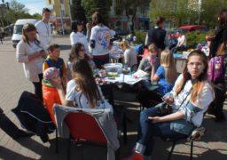 У середмісті Черкас збирали гроші для онкохворих дітей