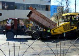 У Черкасах триває реконструкція вул. Гоголя