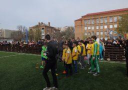 У Черкасах урочисто відкрили оновлений футбольний майданчик школи №17