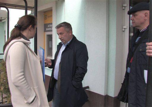 Колишня керівниця обленерго Світлана Кузьмінська намагалася потрапити на територію