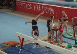 У Черкасах триває міський чемпіонат зі спортивної гімнастики