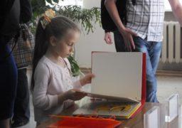 У Черкасах презентували бібліотеку тактильних книжок для незрячих дітей