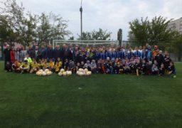 У Черкасах відкрили футбольне поле, про яке мріяв міський голова
