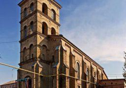 Римо-католицький костел в Мошнах було побудовано 160 років тому