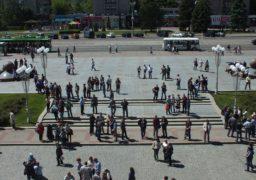 Нацкорпус підтримав страйкуючий колектив «Черкасиобленерго»