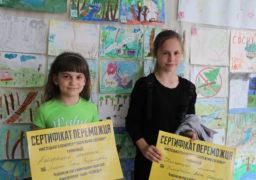 Національний Корпус організував виставку дитячого малюнку, присвяченого захисту Соснівки від забудови