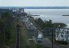 Частково завершені роботи по реконструкції мосту через Дніпро в Черкасах