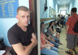 Паспортний аншлаг: у Черкасах чергу в міграційну службу займають з 6-ї ранку