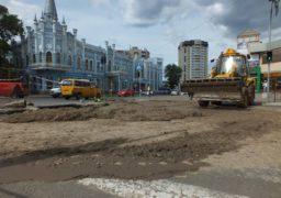 На перехресті Хрещатик-Дашкевича сталася аварія
