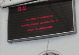 Депутати Черкаської облради не прийшли на сесію
