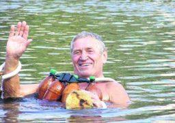 У Черкасах нагородили винахідника методики водного оздоровлення