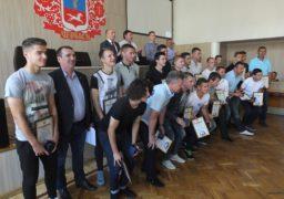 Черкаська міськрада нагородила футболістів «Черкаського Дніпра»