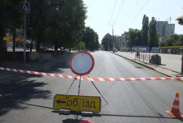 Темпи ремонту бульвару Шевченка не влаштовують міську владу Черкас