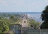 """Водіїв попереджають про зміну пропускних """"вікон"""" на мосту через Дніпро"""