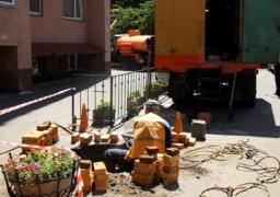 Водоканалівці відновили мережу у дворі черкаської багатоповерхівки