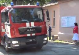 Рятувальники та медики провели спільні пожежні навчання