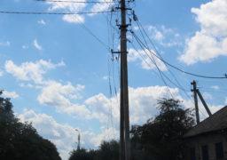 В результаті потужного буревію були відключені 1734 трансформаторні підстанції, через що без енергопостачання залишилися 181 населений пункт області