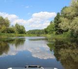 Унікальні куточки Дніпра – річка Довгун в 15 км від Черкас, кришталева вода, мальовничі крайовиди