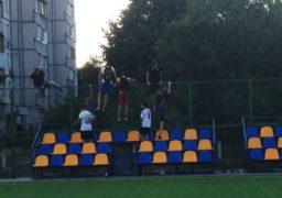 У Черкасах потрощили новий футбольний майданчик