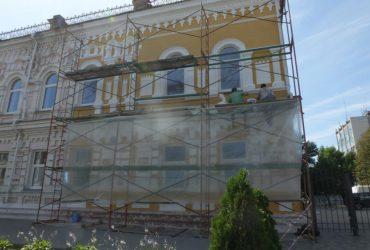 У дитячій художній школі ім Данила Нарбута оновлюють фасад