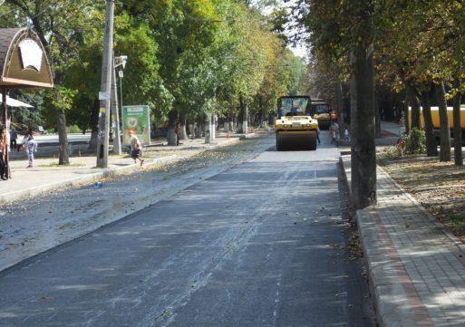 У Черкасах розпочато третю чергу реконструкції бульвару Шевченка