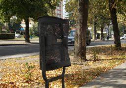 Вандалізм на бульварі Шевченка