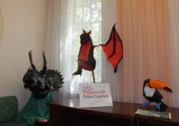 Papercraft Олени Скрипник: черкаська захисниця тварин створила паперовий зоопарк
