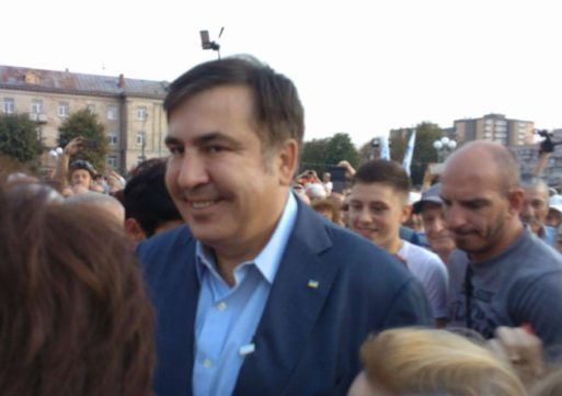 «Мені не треба жодна посада в Україні», – Михайло Саакашвілі в Черкасах