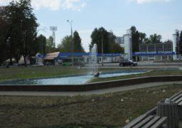 У Соборному сквері почистили фонтан