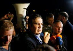 """Нова революція чи зрежисована п'єса? Про події навколо перетину кордону Михайлом Саакашвілі сперечалися експерти """"Антени"""""""