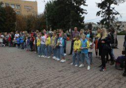 Біля черкаської мерії відзначили День знань