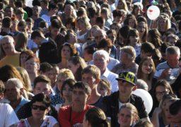 Жителі міста разом виконали «Славень Черкас»