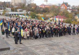 Черкащани відзначили річницю вигнання нацистів з України