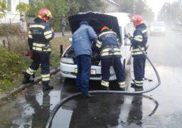 У Черкасах горіла автівка