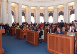 Депутати Черкаської облради акапельно виконали гімн України