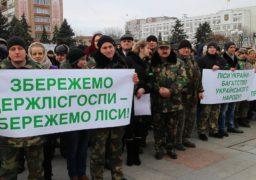 У Черкасах протестують лісівники