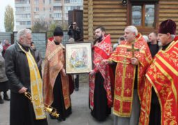 До Черкас привезли ікону та мощі Святого Георгія Переможця