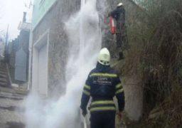 У Черкасах врятували будинок від пожежі