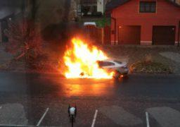 У Черкасах по вул. Гетьмана Сагайдачного згоріла автівка