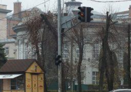 Небезпечно: у середмісті Черкас не працюють світлофори