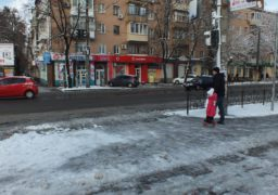 У Черкасах засніжило. Тестування комунальників із зимового утримання доріг розпочалося