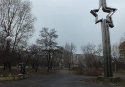 Черкаський сквер ім. Сержанта Смірнова перетворився на смітник