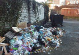 Черкащани скаржаться на невивезене сміття